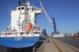 Imagen del Puerto de Huelva.