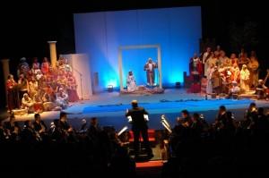Representación del Belén Musical en la Casa Colón de años anteriores.