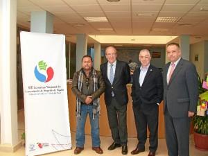 El alcalde de Huelva se ha interesado por la marcha del Congreso.