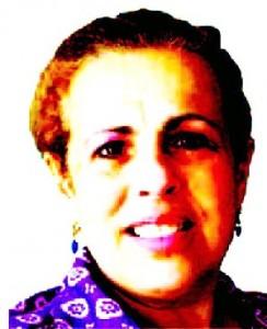 La autora onubense, Maribel G. Morales