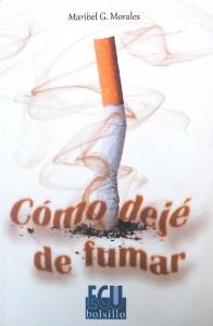 Portada del manual 'Cómo dejé de fumar', de Maribel Gª Morales.