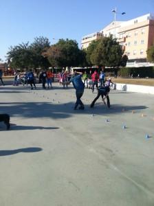 El patinaje ha sido el protagonista del día.