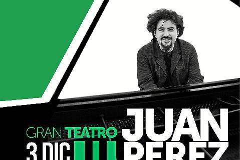 El pianista Juan Pérez actúa en el Gran Teatro de Huelva