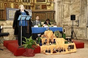 Cuetos dedicó su reconocimiento a María Isabel Mijares y a Juan Labrador.