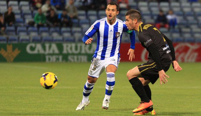 Cifu regresa a la convocatoria tras su lesión ante el Jaén. / Foto: Josele Ruiz.