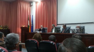 Un momento de la conferencia organizada de la Academia.