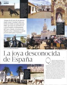La revista 'Aló' publica este reportaje sobre Huelva.