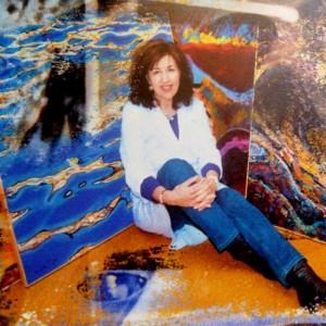 La pintora Ángeles Prieto.