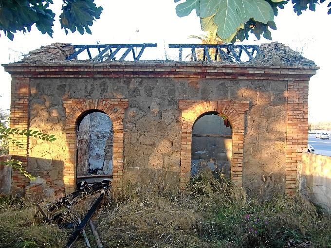 Imagen más actual de la Casa del Guarda, que será rehabilitada. / Foto: Archivo Domingo Martín.