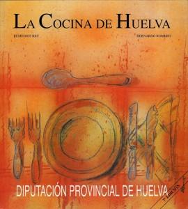 Portada del libro 'La cocina de Huelva'.