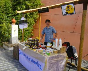 García vende sus productos en diversas ferias y mercados.