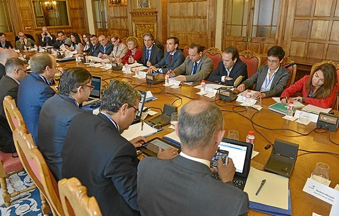 Reunión del Comité Técnico de la Red Española de Ciudades Inteligentes (RECI). / Foto: www.redciudadesinteligentes.es