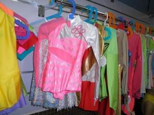 La ropa ideal para patinaje, ballet y gimnasia rítmica.