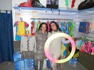 Mª Ángeles Veira y Patricia Torres Crespo.