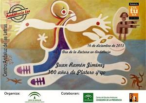 Imagen realizada con motivo del Día de la Lectura dedicado a la obra 'Platero y yo'.
