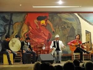 El Pele actuó en la Peña Flamenca de Huelva.