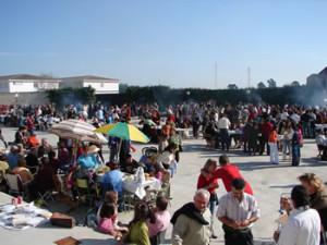 Imagen de la Fiesta del Mosto de Gibraleón en años anteriores.