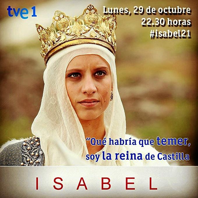 La serie 'Isabel' se emite cada lunes en la 1 de TVE.
