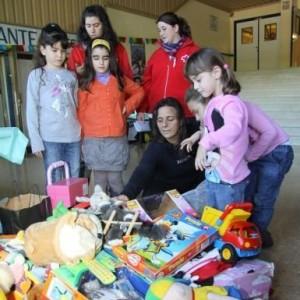 Los pequeños podrán donar sus juguetes para la Ciudad de los Niños. / Foto: elperiodic.com