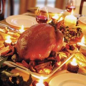 El pavo que puebla las mesas navideñas es un manjar procedente de América.