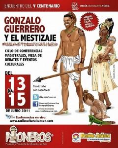Gonzalo, como pionero de Cancún.