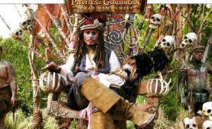 ¿Cómo habría sido la grabación en Lepe de 'Piratas del Caribe'?