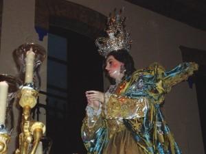 Imagen de la titular de la Hermandad, Purísima Concepción.
