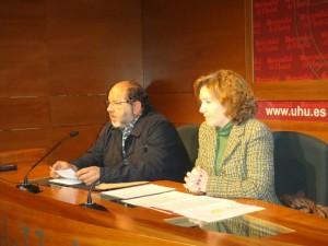 Presentación de 'Econavidades' en la UHU.