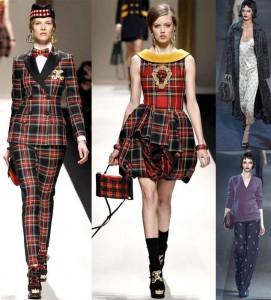 El tartán o cuadro escocés, también conocido como plaid, ha sido una de las tendencias de 2013.