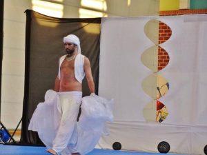 El onubense ha estudiado con los mejores bailarines egipcios.