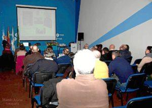 La conferencia tuvo lugar en el Centro 'Puerta del Atlántico' de Huelva.