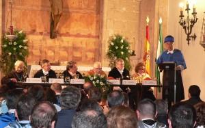 El profesor Domingo Docampo Amoedo durante la disertaciónPor Universidad Internacional de Andalucía (UNIA).