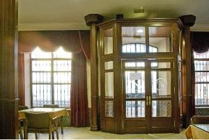 Salón interior.
