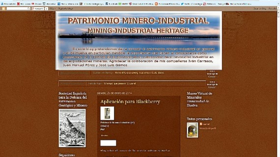 Un blog en defensa del patrimonio minero de Huelva