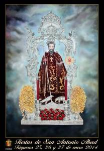 Cartel de San Antonio Abad 2014.