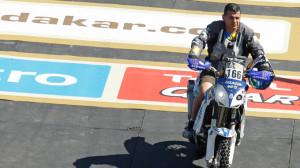 Calderay inició con buen pie su andadura en el Rally Dakar.