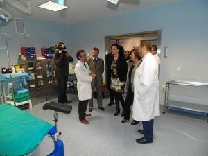 Visita de la consejera a la Unidad de Reproducción Asistida del Hospital Vázquez Díaz.