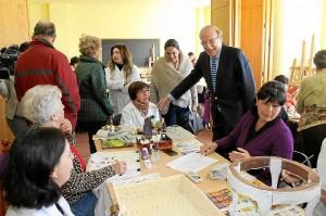 Visita al programa de 'Cultura en los Barrios' en El Molino.