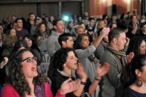 Cerca de 400 personas acudieron al concierto.