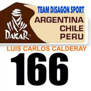 Calderay lucirá el dorsal 166 en la prueba.