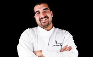 El chef Juan Andrés Morilla fue alumno de la Escuela de Hostelería Virgen de Belén.