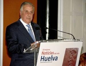 Intervención de Enrique Pérez Viguera, subdelegado del Gobierno en Huelva.