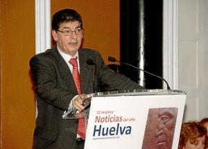Diego Valderas puso de relieve la importancia de medios que ofrecieran 'buenas noticias'.
