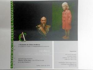 Cartel anunciador de la muestra.
