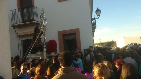 Comienzan las tradicionales 'Tiradas al Santo' en honor a San Antonio Abad en Trigueros