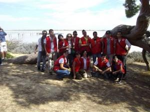 Los voluntarios son el pilar fundamental de la entidad que realizan una labor necesaria para Huelva.