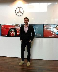 El joven trabajaba en Holanda en la Mercedes Benz.