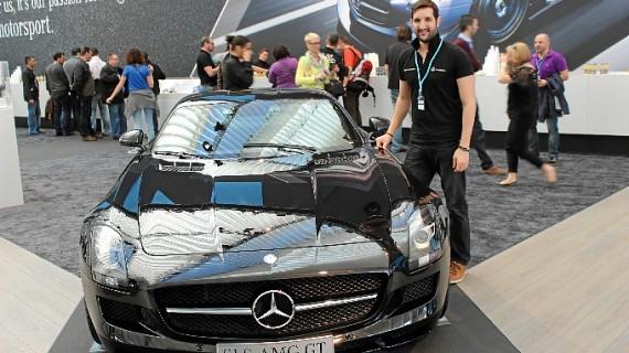 Luis Benítez, un onubense en la Mercedes Benz de Maastricht