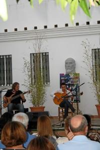 Álvaro Mora quedó segundo en el Certamen de Jóvenes Flamencos.