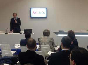 Manuel Guerra, presentado la iniciativa.